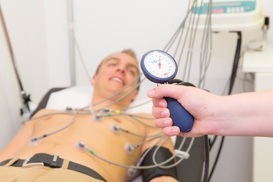 Herz-Kreislauf-Untersuchung